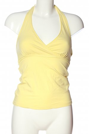 Colours of the World Top cut out amarillo pálido look casual