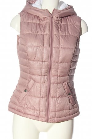 Colours of the World Down Vest pink quilting pattern casual look