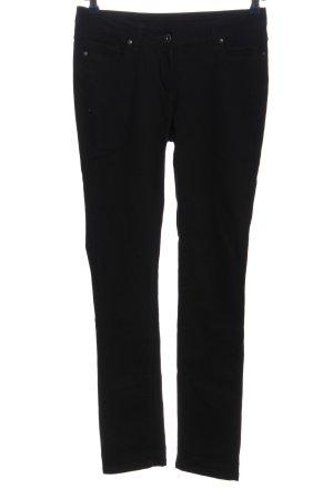 Colours of the World Five-Pocket Trousers black mixture fibre
