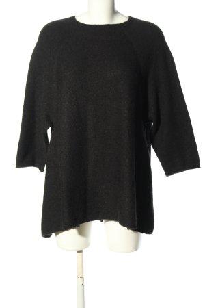 Colours of the World Polarowy sweter czarny W stylu casual