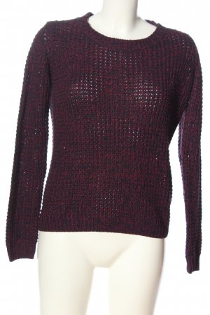 Colours of the World Häkelpullover pink Casual-Look