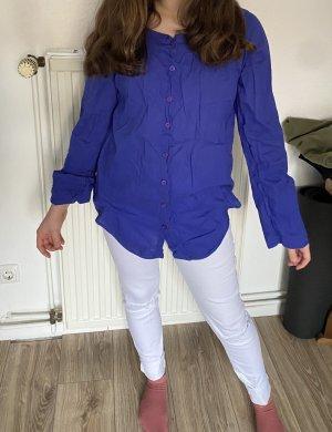 Colours of the World Hemd Bluse blau