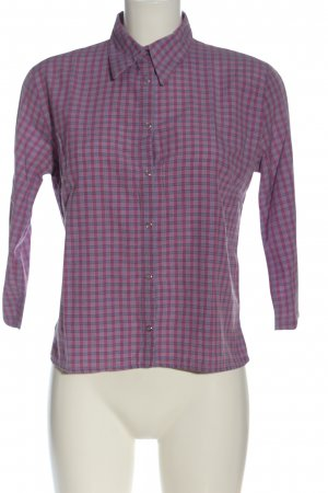 Colours of the World Lumberjack Shirt lilac check pattern casual look