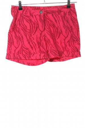 Colours of the World Hot Pants pink abstraktes Muster Elegant