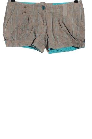 Colours of the World Krótkie szorty jasnoszary-turkusowy Na całej powierzchni