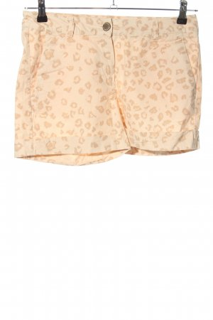 Colours of the World Hot Pants creme Allover-Druck Casual-Look