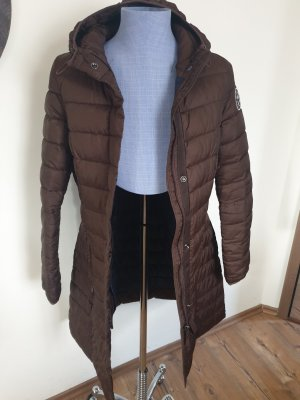 Colours of the World Quilted Jacket brown