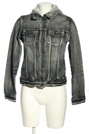 Colours of the World Jeansjacke schwarz Casual-Look