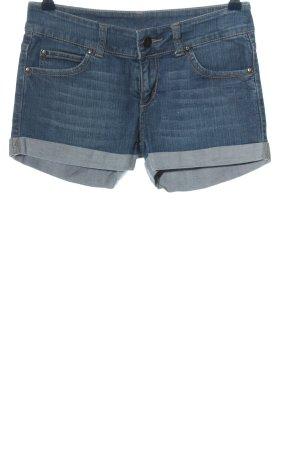 Colours of the World Short en jean bleu style décontracté