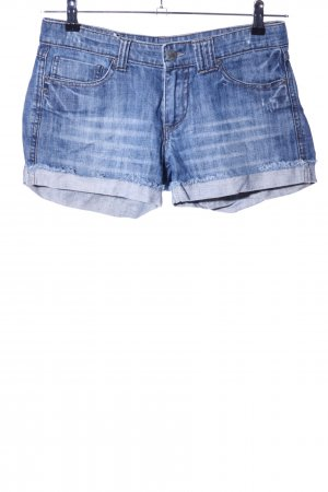 Colours of the World Jeansshorts blau Casual-Look