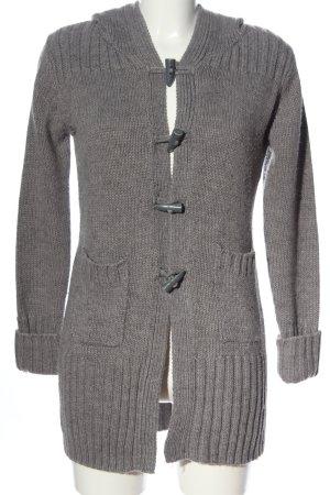 Colours of the World Pull à capuche gris clair style décontracté