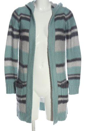 Colours of the World Sweter z kapturem Wzór w paski W stylu casual