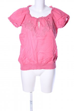 Colours of the World Kurzarm-Bluse pink Casual-Look