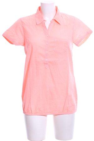 Colours of the World Shirt met korte mouwen roze zakelijke stijl