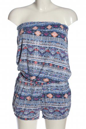 Colours of the World Kurzer Jumpsuit mixed pattern casual look