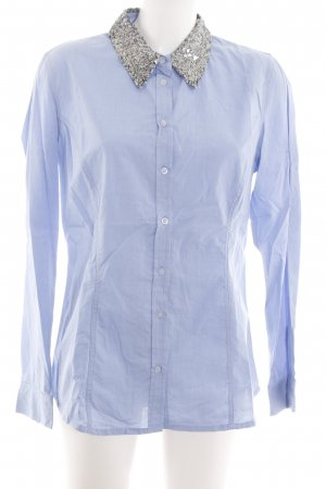 Colours of the World Langarmhemd blau Casual-Look