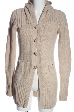 Colours of the World Strickjacke creme meliert Casual-Look