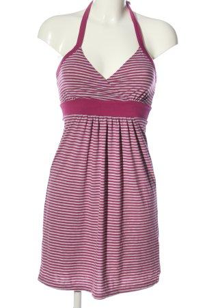 Colours of the World Mini vestido rosa-blanco look casual