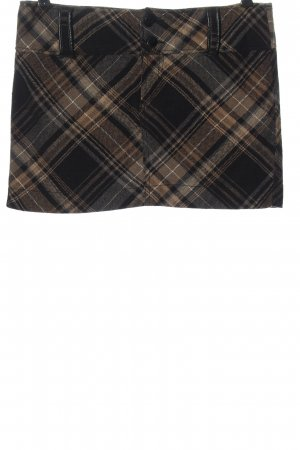 Colours of the World Miniskirt black-brown allover print casual look