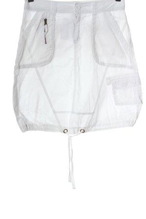 Colours of the World Minigonna bianco stile casual