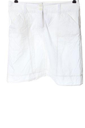 Colours of the World Mini-jupe blanc style décontracté