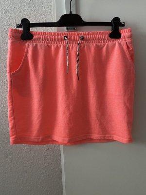 Colors of the world Miniskirt salmon-neon orange