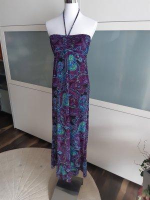 Colors of the world Sukienka z dekoltem typu halter Wielokolorowy