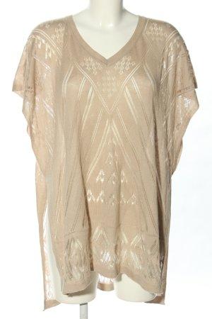 Colours of the World Sweter oversize w kolorze białej wełny W stylu casual