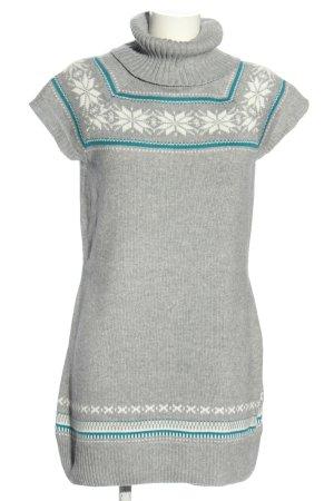 Colours of the World Vestido tipo jersey moteado look casual