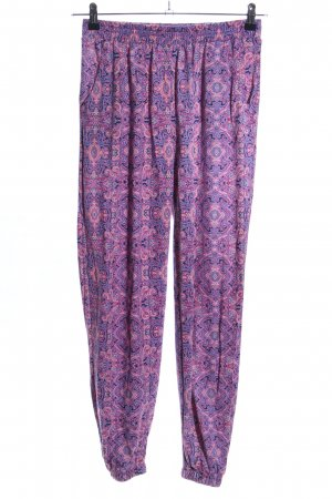 Colours of the World Pantalon large imprimé allover style décontracté