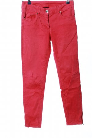 Colours of the World Drainpipe Trousers red casual look