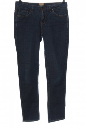 Colours of the World Jeans a sigaretta blu stile casual