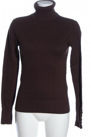 Colours of the World Rollkragenpullover braun Casual-Look