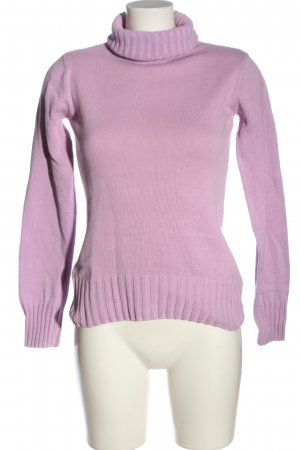 Colours of the World Rollkragenpullover lila Casual-Look