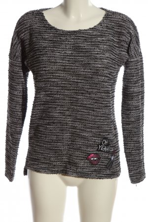 Colours of the World Rundhalspullover hellgrau Casual-Look