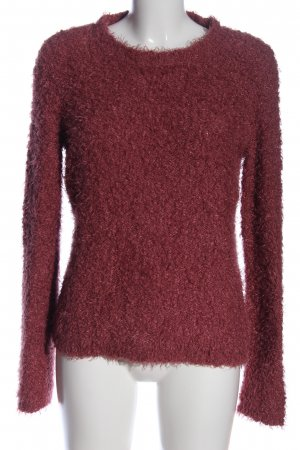 Colours of the World Rundhalspullover rot Casual-Look