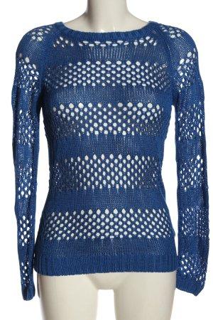 Colours of the World Sweter z okrągłym dekoltem niebieski W stylu casual