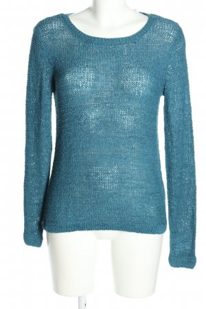 Colours of the World Rundhalspullover blau Casual-Look
