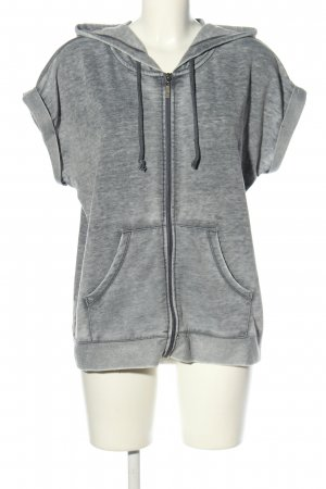 Colours of the World Shirtjacke hellgrau meliert Casual-Look