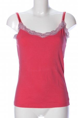 Colours of the World Spaghettibandtopje roze casual uitstraling