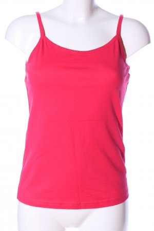 Colours of the World Spaghettiträger Top pink Casual-Look