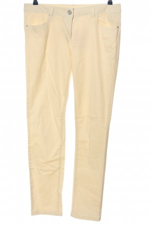 Colours of the World Pantalone jersey crema stile casual