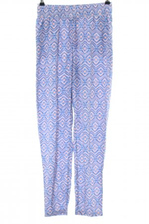 Colours of the World Stoffhose abstraktes Muster Casual-Look