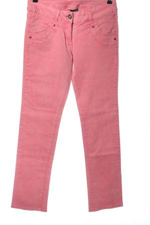 Colours of the World Jeansy z prostymi nogawkami różowy W stylu casual