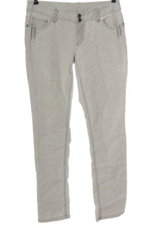 Colours of the World Jeansy z prostymi nogawkami jasnoszary Wzór w paski