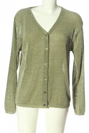 Colours of the World Knitted Cardigan green casual look