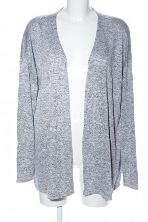 Colours of the World Strick Cardigan hellgrau meliert Casual-Look