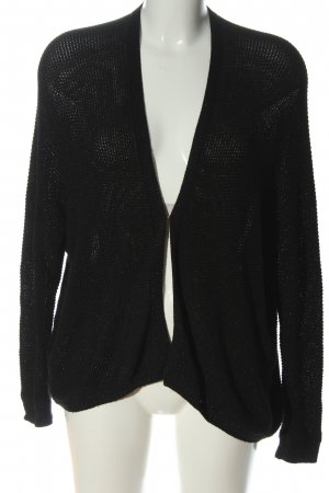 Colours of the World Strick Cardigan schwarz Casual-Look