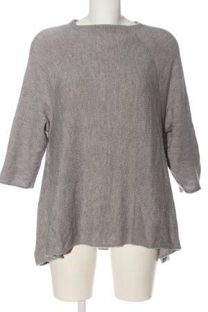 Colours of the World Pull tricoté gris clair style décontracté