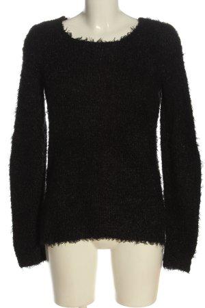 Colours of the World Sweter z dzianiny czarny W stylu casual